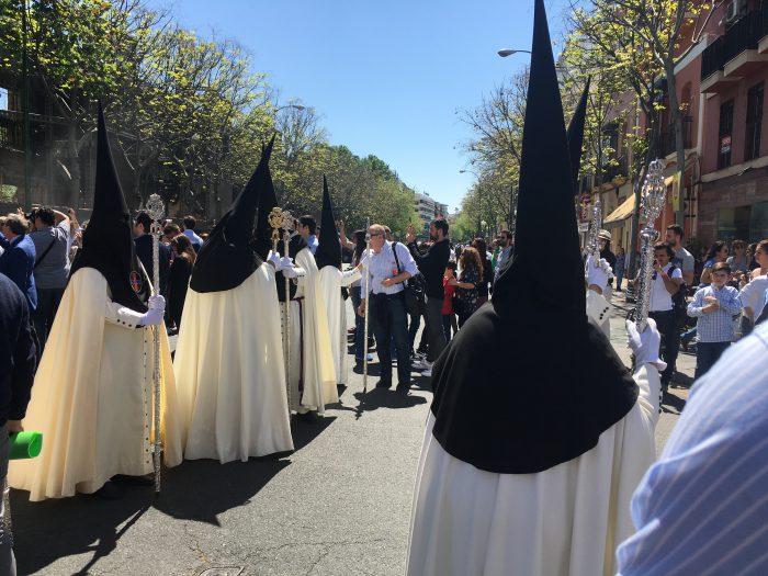 スペイン 聖週間 セマナ・サンタ セビージャ セビリア お祭り キリスト マリア